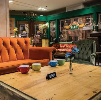 Central Perk at The Friends Experience
